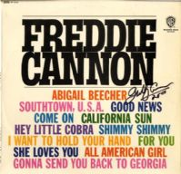 Freddie Cannon - Abigail Beecher And Other Top Hits (WM 8153) Autographed